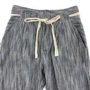 Free People Seersucker Cotton Lounge Pants